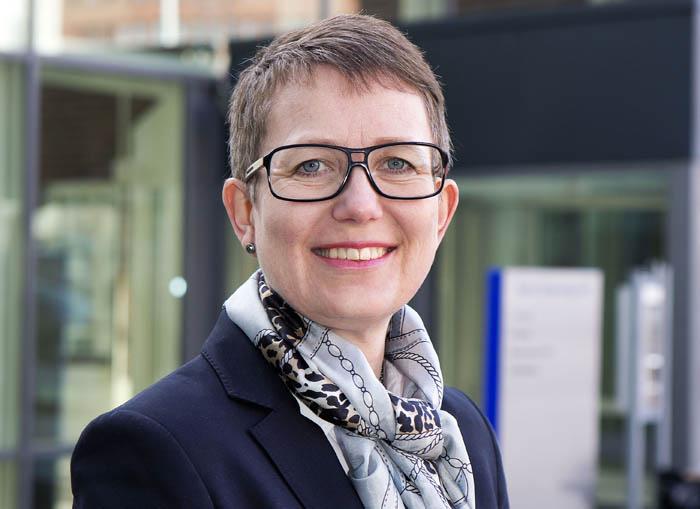 Anna Lundman, chef Underhåll Trafikverket